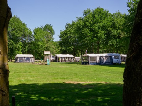 Campingplaatsen Op Vakantiepark Latour