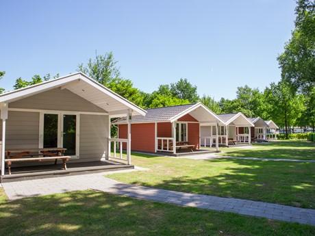 Lodges Met Veranda Op Vakantiepark Latour