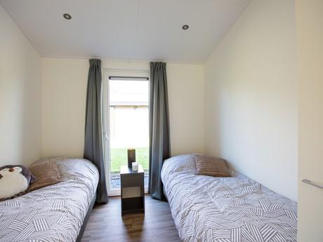 Waterbungalow slaapkamer enkele bedden 1 - nieuw