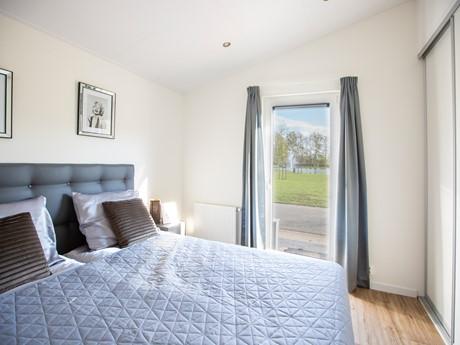 Waterbungalow slaapkamer masterroom - nieuw