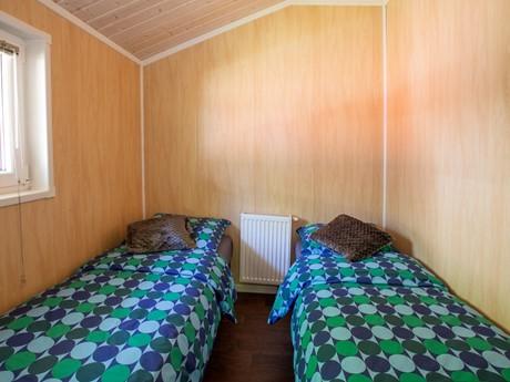 Twee Eenperssonbedden In Lodge Vakantiepark Latour