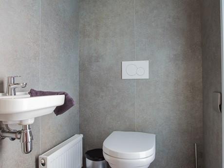 Waterbungalow badkamer wc - nieuw