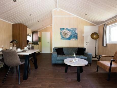 Woonkamer Lodge Vakantiepark Latour
