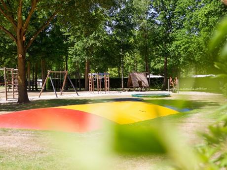 Groot Sprinkussen Op Vakantiepark Latour